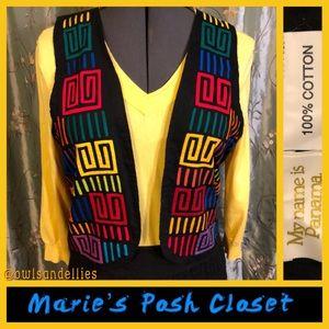 Colorful Mola Vest
